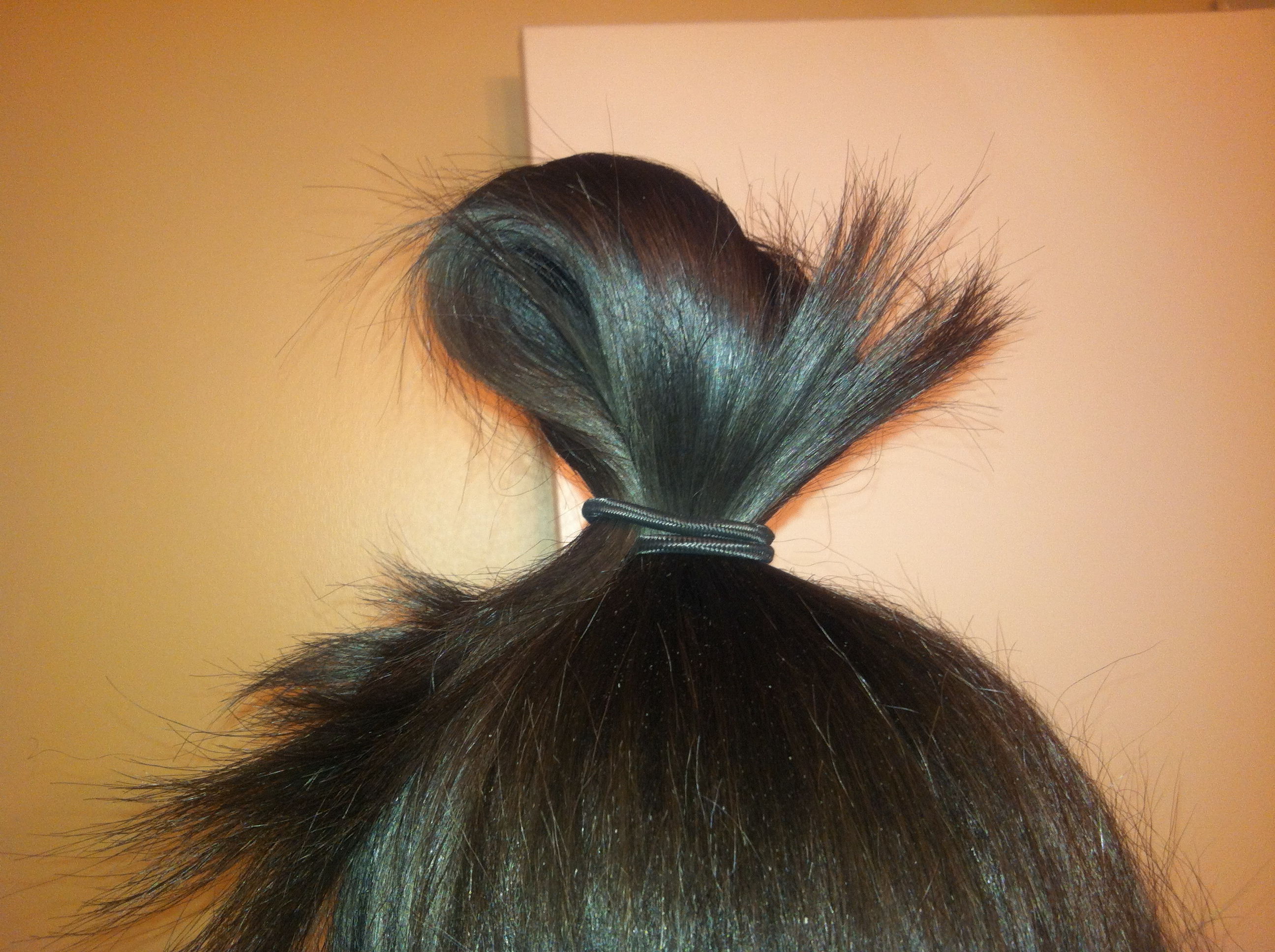 How To Make A Hair Bow FAB Cocktail - Hairstyle bun with bow