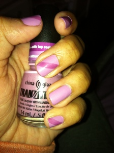 Pink Tranzitions Polish
