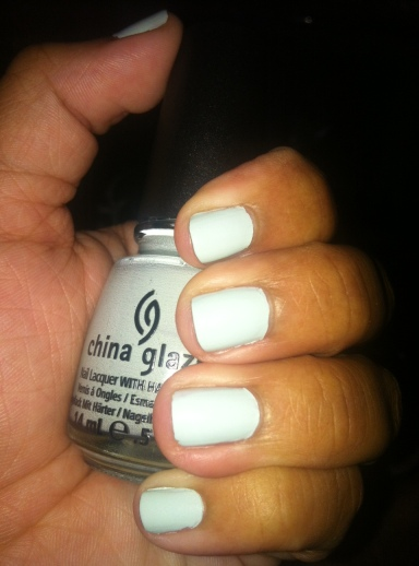 China Glaze Mint Nail Polish