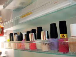 nail polish in the fridge