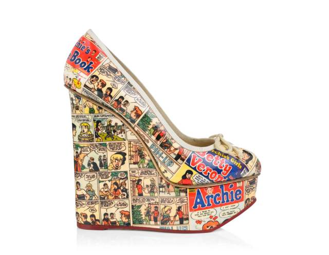 Charlotte Olympia and Betty and Veronica