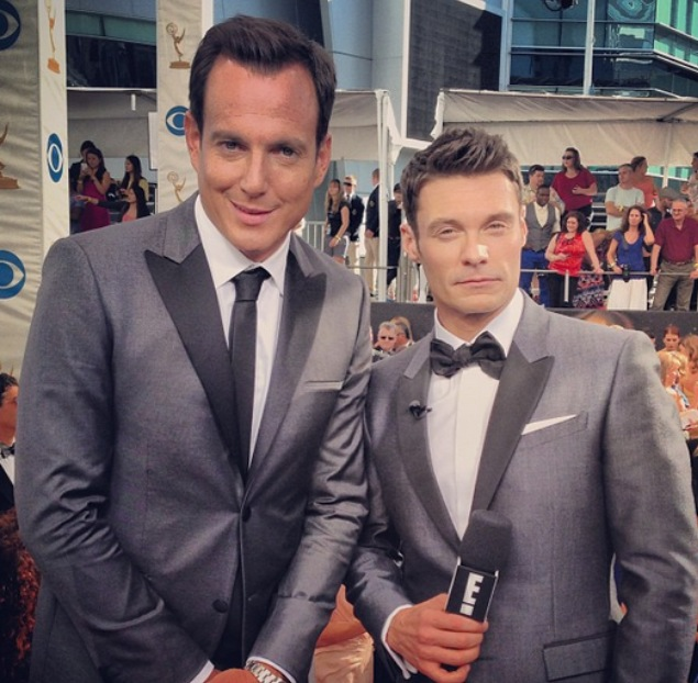 Ryan Seacrest and Will Arnett Matching Blazers
