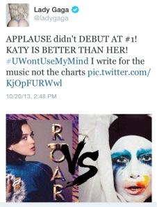 Lady Gaga vs Katy Perry
