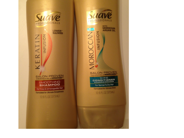 Suave Professionals Shampoo and Conditioner