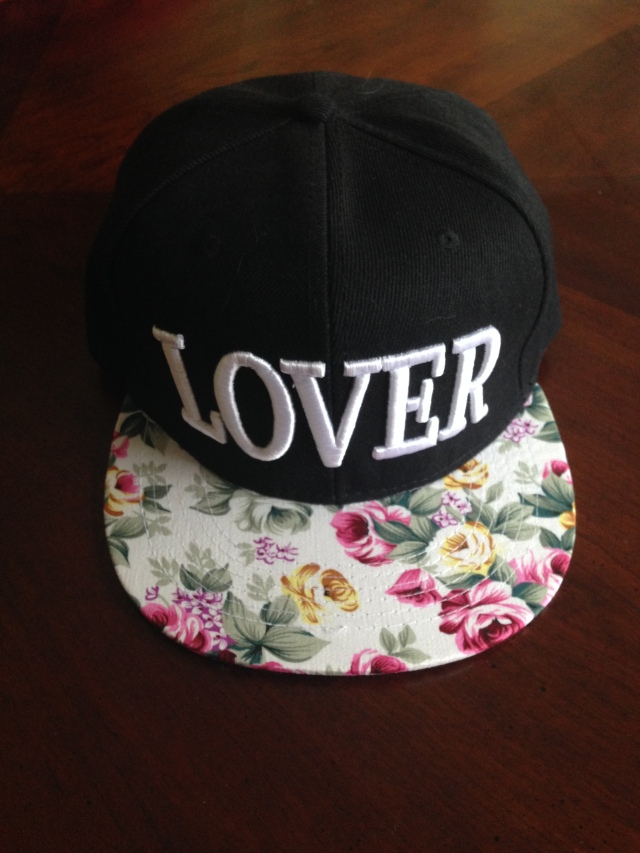 Lover snapback purchased on eBay
