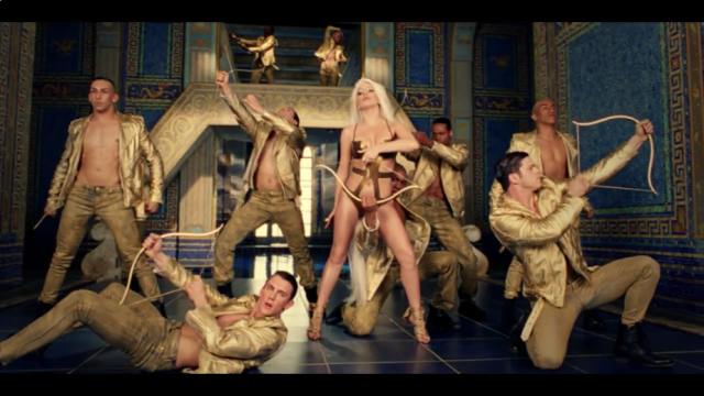 Lady gaga Gold