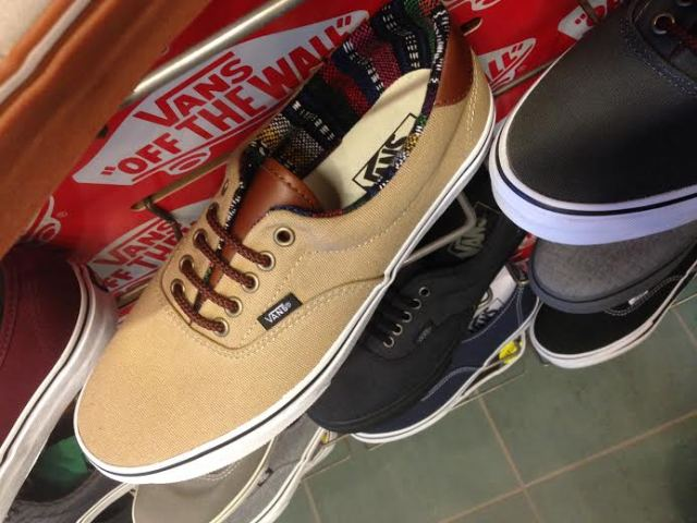 Tan Canvas Vans