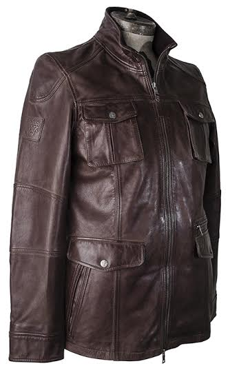 Joe Faris Brown Leather