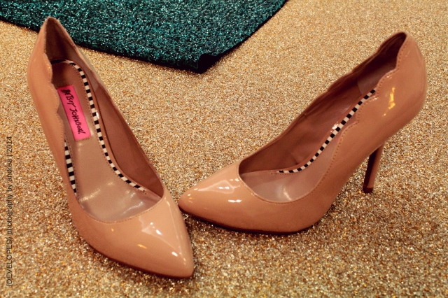 Nude Betsey Johnson pumps from DSW