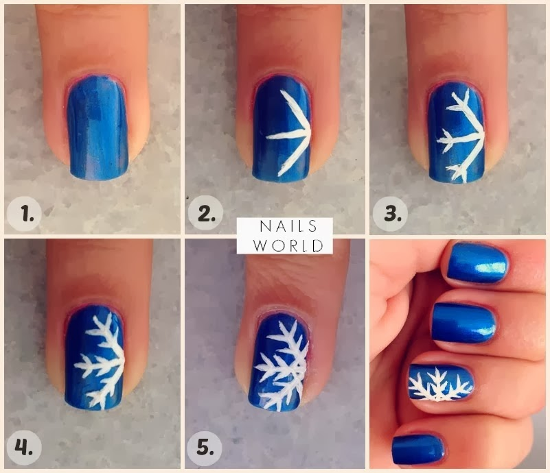 Christmas Nail Art Tutorial Fab Cocktail